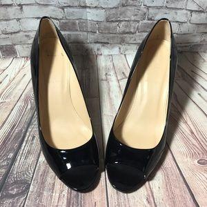 •J. Crew• 'Drea' Patent Leather Pumps Heels